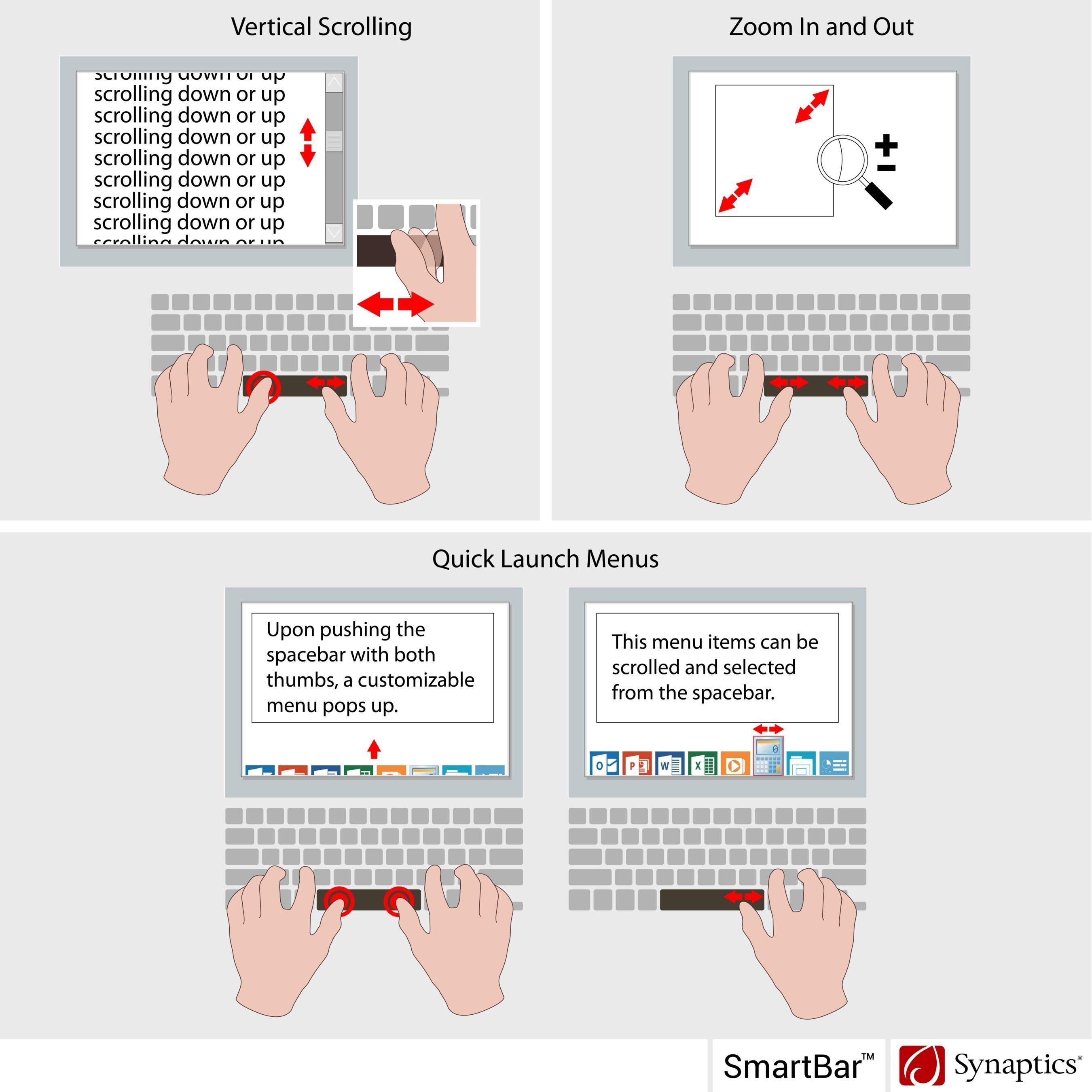 Synaptics SmartBar