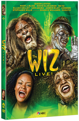 From Universal Pictures Home Entertainment: The Wiz Live!