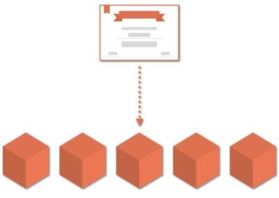Illustration: Developer certificate with Blockchain