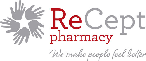 "ReCept Pharmacy's Helping Hands Logo symbolizes the organization's dedication to ""making people feel better"". (PRNewsFoto/ReCept Pharmacy, LP)"