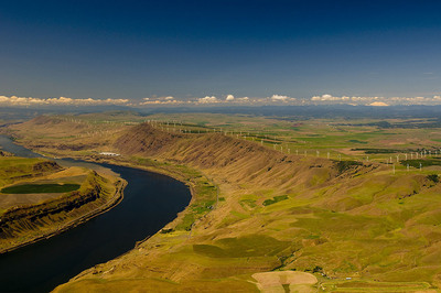 Windy Point/Windy Flats Project - Goldendale, Washington.  (PRNewsFoto/Cannon Power Group)