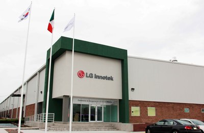LG Innotek's newly opened automotive components plant in San Juan del Rio, Mexico