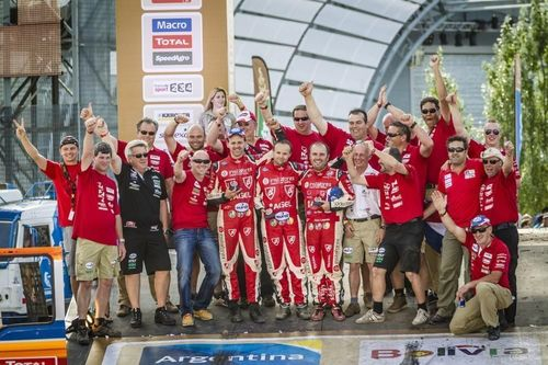 InstaForex Loprais Team finishes fourth at Dakar Rally 2015 (PRNewsFoto/InstaForex)