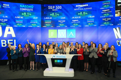 Recently Katrin Dambrot, FWA President, rang the Closing Bell at Nasdaq. She was joined by FWA Leadership to celebrate its 60th Anniversary year.
