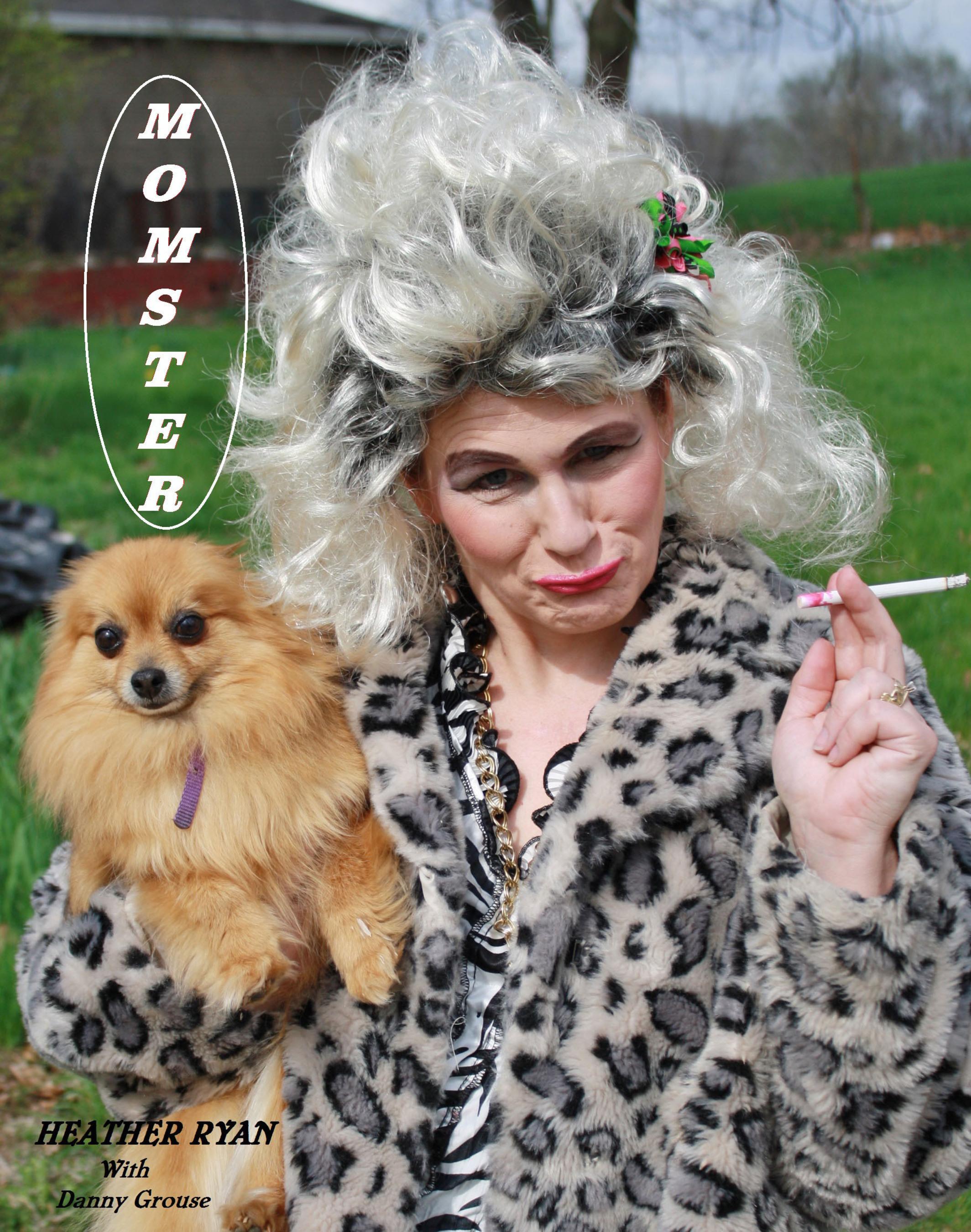 """Momster"" Album Cover- Heather Ryan.  (PRNewsFoto/Heather Ryan)"