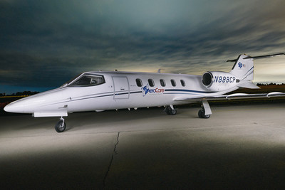 AeroCare's Latestest Addition to Their Fleet - A Learjet 31ER