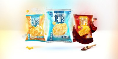 QUEST NUTRITION BITES INTO NEW SNACK CATEGORY WITH INTRODUCTION OF QUEST PROTEIN CHIPS! (PRNewsFoto/Quest Nutrition)