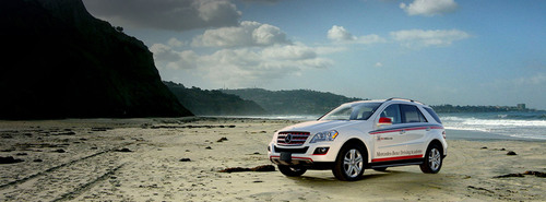 Mercedes-Benz Introduces Driving Academy For Teens At San Diego Auto Show. (PRNewsFoto/Mercedes-Benz USA) ...