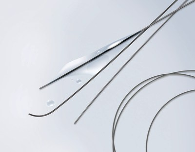 Olympus is now the exclusive distributor of the Terumo GLIDEWIRE(R) for urology. GLIDEWIRE(R) is the most preferred hydrophilic coated guidewire. Its kink-resistant super Nitinol core, coated with a proprietary polymer jacket and a lubricious hydrophilic coating facilitates quick and easy access, and exceptional device tracking.