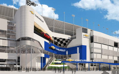Chevrolet Becomes Founding Partner of DAYTONA Rising Project at Daytona International Speedway
