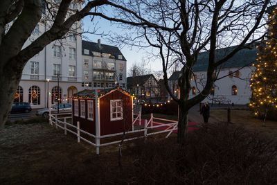 Eldhus- Little House of Christmas in Austurvollur in downtown Reykjavik marks the beginning of the yule season.