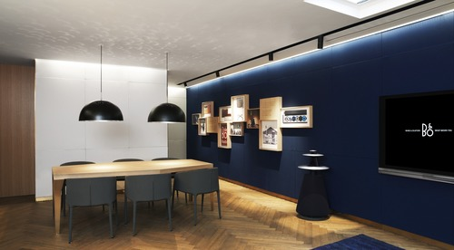 Bang & Olufsen launches next-generation retail concept in North America (PRNewsFoto/Bang & Olufsen) (PRNewsFoto/Bang & Olufsen)