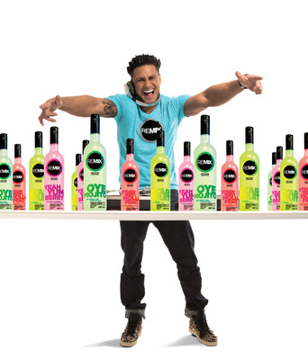 DJ Pauly D & REMIX Cocktails.  (PRNewsFoto/REMIX Cocktails)