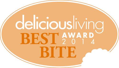 2014 Delicious Living Magazine's Best Bite Awards Winners Revealed (PRNewsFoto/Penton)