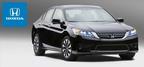 The fuel efficient 2014 Honda Accord is currently available at Benson Honda in San Antonio.  (PRNewsFoto/Benson Honda)