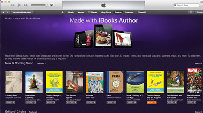 "The Persian Square is featured on ""Made in iBooks Author"" on the iBookstore.  (PRNewsFoto/PersianSquare)"