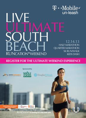 Live Ultimate Run Flyer front. (PRNewsFoto/Live Ultimate) (PRNewsFoto/LIVE ULTIMATE)