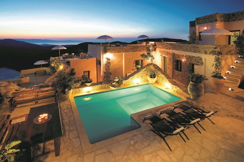 Cressa Ghitonia Village is a few kilometres from Sitia and Aria's fifth property on Crete; this amazing ...