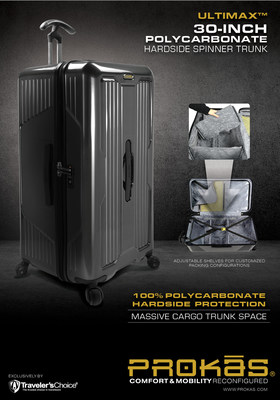 ULTIMAX trunk luggage by PROKAS. visit www.prokas.com for details