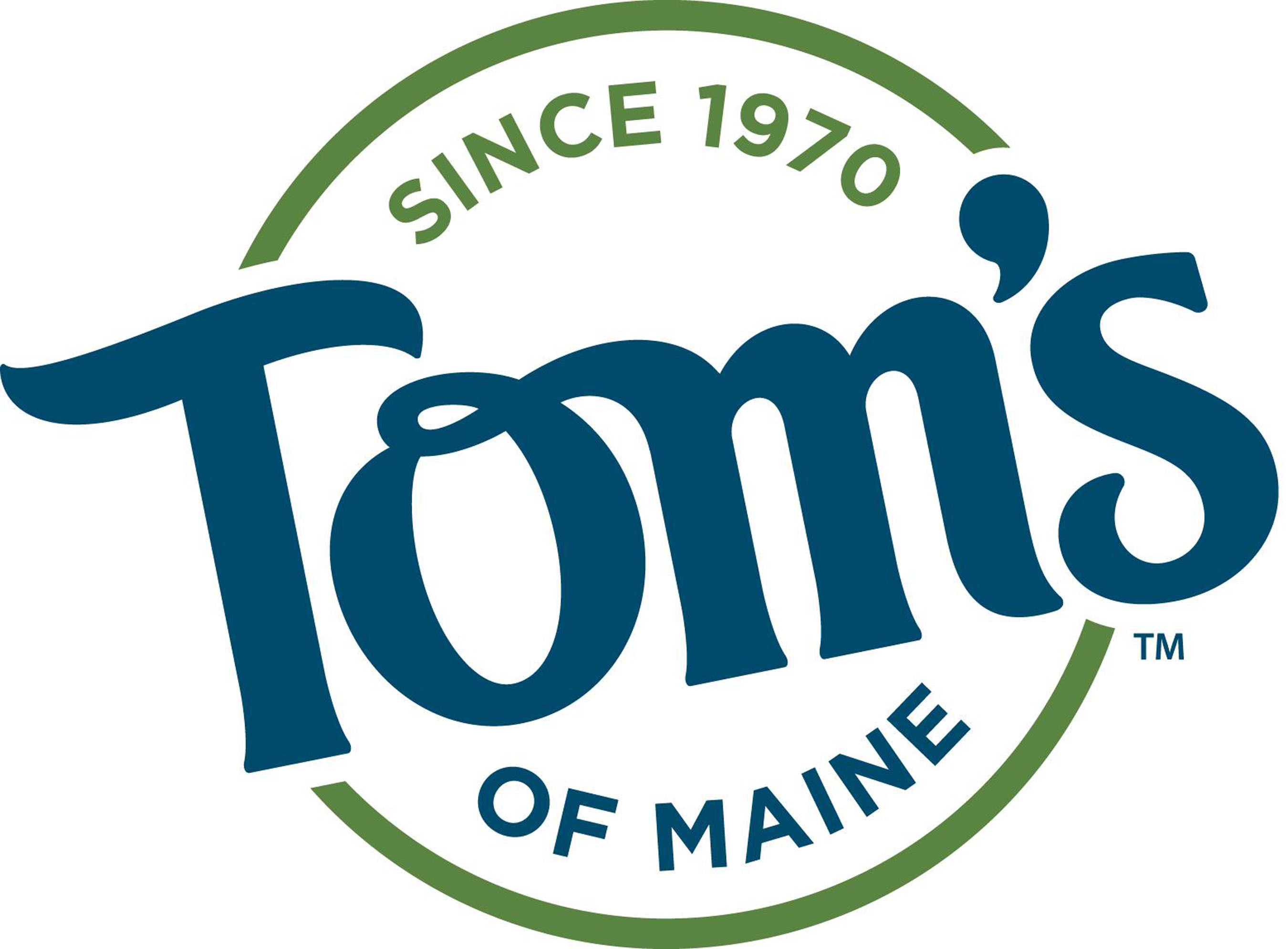 Tom's of Maine logo.
