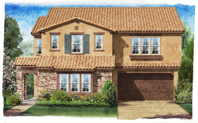 Standard Pacific Homes, one of the nation's leaders in homebuilding quality, today announced the grand opening of Montserrat, an opulent collection of single-family homes situated in the prestigious master-planned community of Blackstone in the hills above Brea, CA. The homes within Montserrat will artfully showcase all of Standard Pacific Homes' leading design trends under one roof. Grand opening festivities are set for Saturday, March 16. Doors open at 10:00 a.m.  (PRNewsFoto/Standard Pacific)
