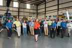 The PAS team of experienced technicians and aviation professionals, led by President Adrienne Robinson has been known for over 20 years as one of the premier avionics and maintenance service centers in the Southeast.  PAS has now been named a Robinson Helicopter Dealer and Service Center.  (PRNewsFoto/Precision Aviation Services)
