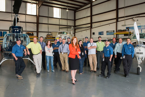 The PAS team of experienced technicians and aviation professionals, led by President Adrienne Robinson has been  ...