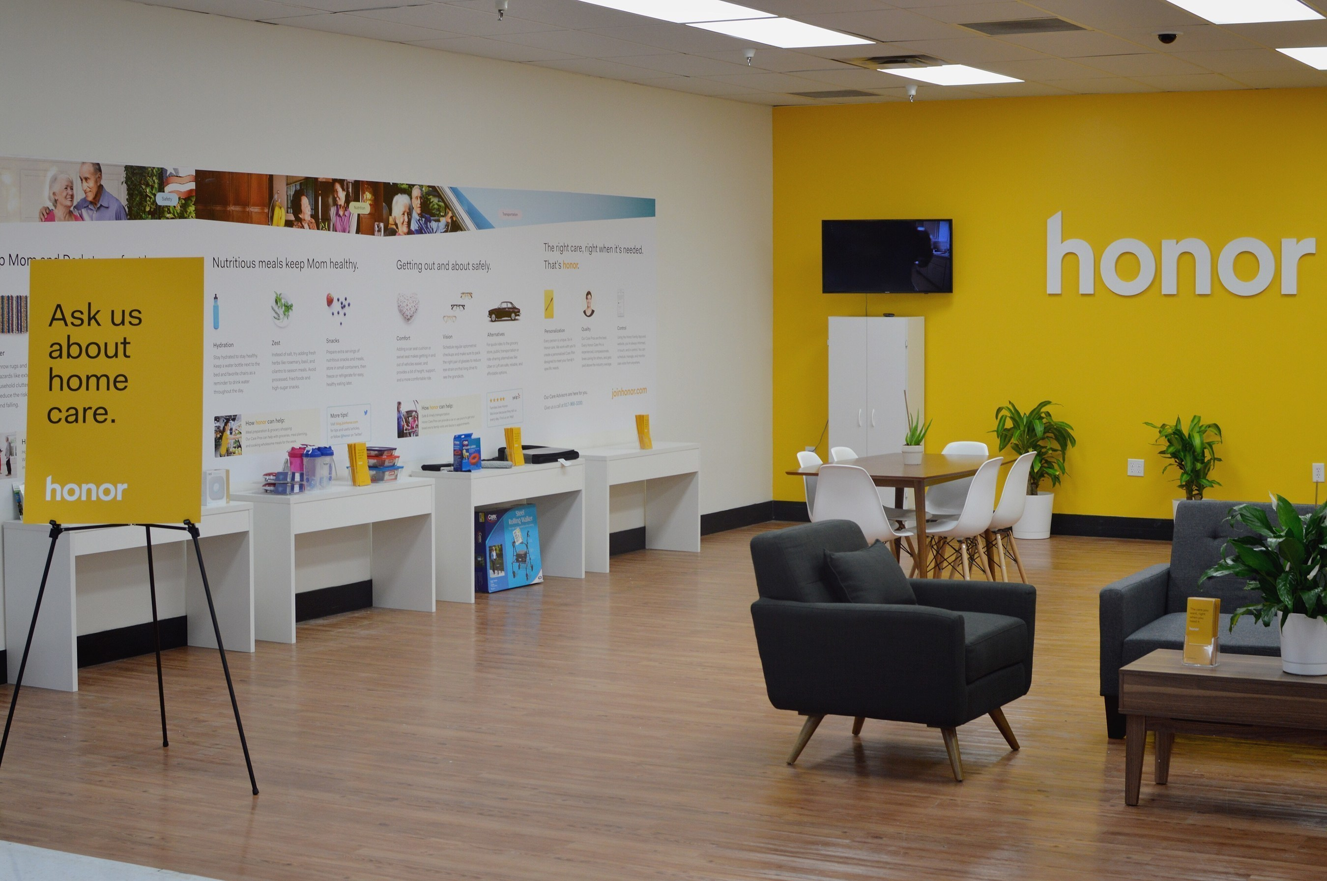 Honor™ Launches In Two Dallas Fort Worth Walmart Stores