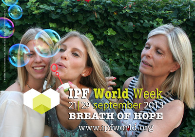 Winning entry of 2013 'Breath of Hope' photo contest.  (PRNewsFoto/InterMune, Inc.)
