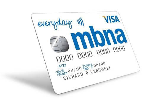 The Everyday credit card from MBNA (PRNewsFoto/MBNA Limited)