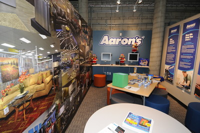 Aaron's, Inc. unveiled a new storefront this week at the Junior Achievement of Southern California's Finance Park.