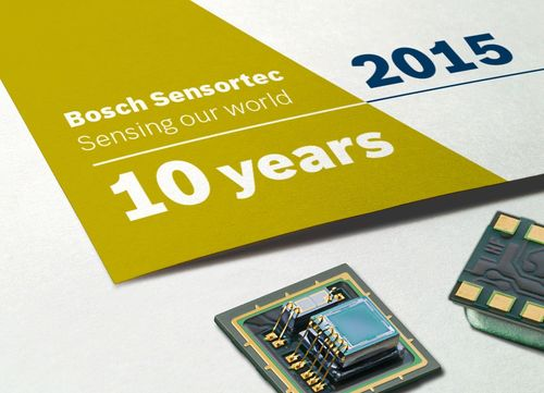 Bosch Sensortec: 10 years of MEMS sensors innovation MEMS sensors are a key technology for the connected world (PRNewsFoto/Bosch Sensortec)