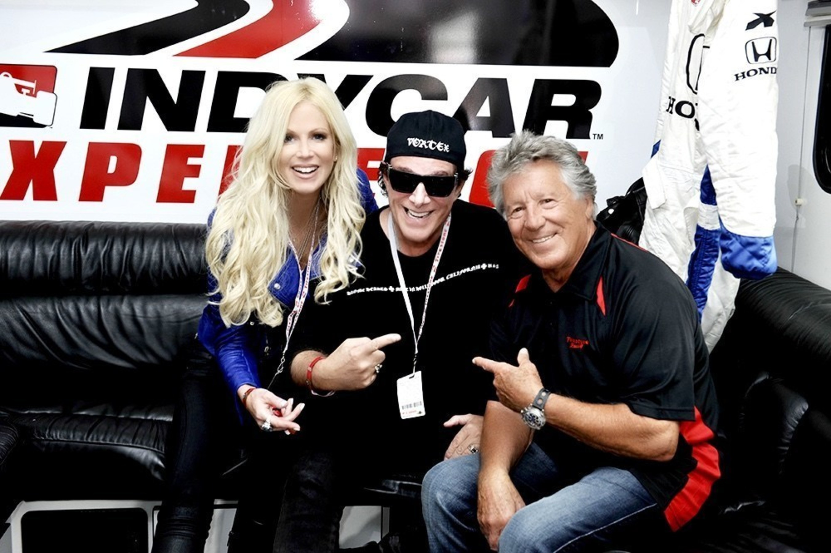 Neal Schon receives gift from Michaele Schon: the ride of a lifetime with Mario Andretti