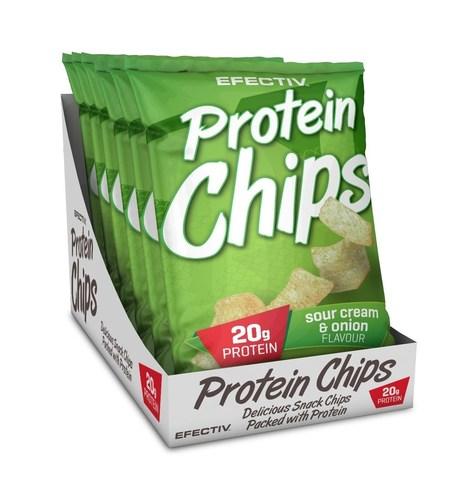 PROTEIN CHIPS RETAIL DISPLAY (PRNewsFoto/EFECTIV Nutrition)