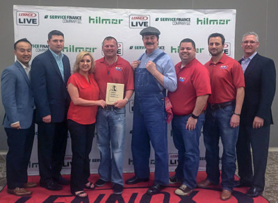 Owners Sherry and James Green of A#1 Air, the Dallas/Fort Worth leader in their industry, receive prestigious Dave Lennox Award for being recognized as one of 25 Premier Dealers out of 7,000 candidates in North America