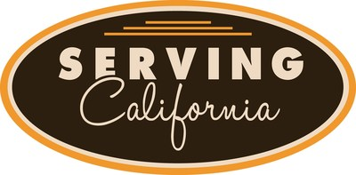 Serving California logo.