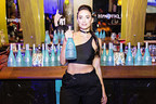 """Today, the iconic blue liqueur, Hpnotiq, and YesJulz debuted a new video with a ridiculous and irreverent take on fitness infomercials on Hpnotiq's Instagram, Twitter, Facebook and YouTube platforms. The """"YesJulz Hpnotiq Workout Plan"""" stars the """"never not working"""" social media marketing & branding aficionado, also known as Julieanna Goddard, as she offers her tips for staying in shape during the holidays (hint: her secret is Hpnotiq). In addition to creating the holiday video, YesJulz and Hpnotiq partnered to bring her infamous 1AM Party series to New York, Houston and Atlanta."""
