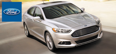 2014 Ford Fusion in Myrtle Beach, SC at Beach Ford.  (PRNewsFoto/Beach Ford)