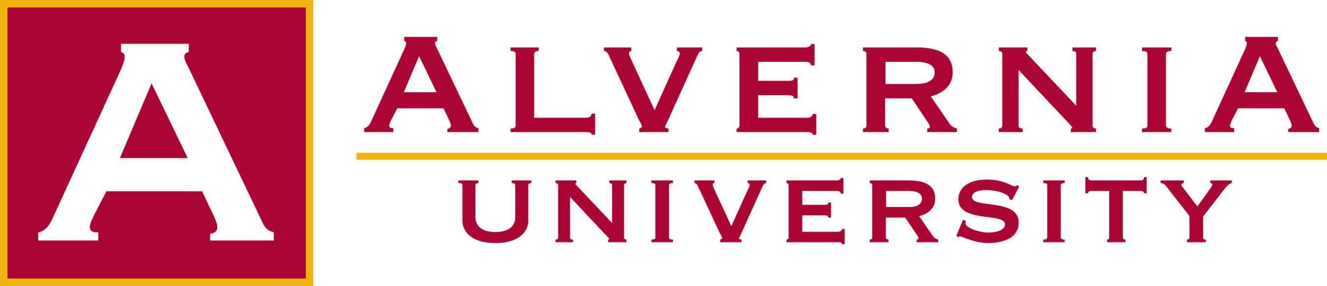 The Official Logo of Alvernia University, Reading, Pa.