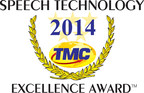 Interactions Wins 2014 Speech Technology Excellence Award