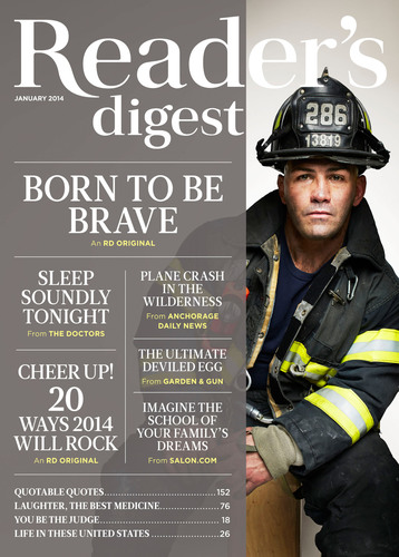 Reader's Digest. (PRNewsFoto/Reader's Digest) (PRNewsFoto/READER'S DIGEST)
