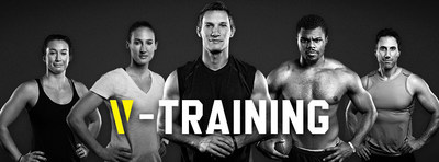 Getting fit just got easier with V-Training app. It's simple, It's trustworthy, The perfect exercises, You need nothing else