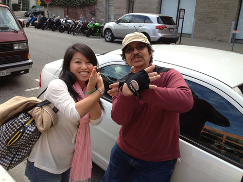 Wingz Happy Rider With Her Driver. (PRNewsFoto/Wingz) (PRNewsFoto/WINGZ)