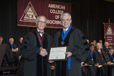 CHOP's Dr. Michael A. Levine Is Awarded Master of the American College of Endocrinology from American College of Endocrinology (Photo Credit: Jean Whiteside Photography)