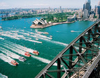 Sydney Festival Ferrython on Sydney Harbour by First Light Photography. (PRNewsFoto/Destination NSW, First Light Photography)