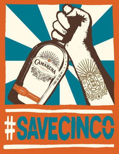 Familia Camarena Tequila is urging Cinco de Mayo fans to pledge to #SAVECINCO from the work week.  (PRNewsFoto/Familia Camarena Tequila)