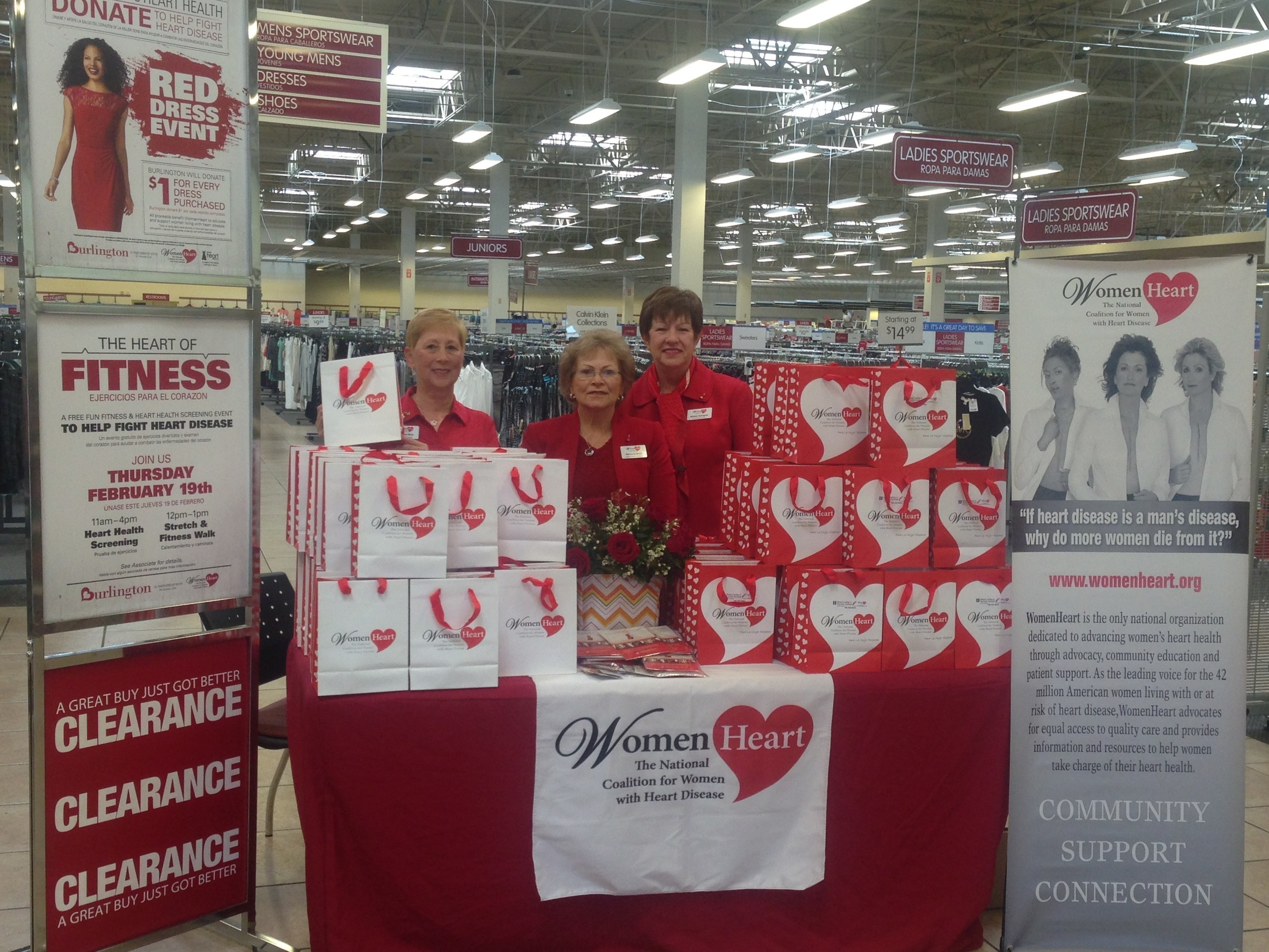 The Heart of Fitness Tour at Burlington in Tampa, FL