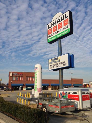 U-Haul Moving and Storage of Lake Lewisville Now Selling Propane. (PRNewsFoto/U-Haul) (PRNewsFoto/U-HAUL)
