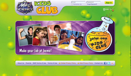 Mad Science Group® Launches First-Ever Science Social Network for Kids