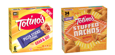 Totino's(TM) debuts two new products, Stuffed Nachos and Pizza Sticks, giving millennials more convenient snack options that fit into their busy, on-the-go lifestyles.